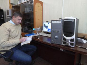Умови проведення відеоконференції у кімнаті № 16 Червонозаводського районного суду м. Харкова