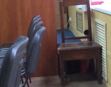 Протипожежний стан залу судового засідання № 4 Червонозаводського районного суду м. Харкова