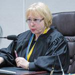 Суддя Золотарьова Лідія Іванівна