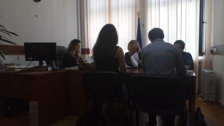 Слушание в кабинете судьи