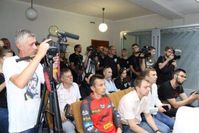 13 липня в Київському районному суді слідчий суддя Світлана Муратова розглядала клопотання про обрання запобіжного заходу для підозрюв