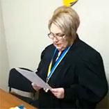 Суддя Шляхова Олена Миколаївна