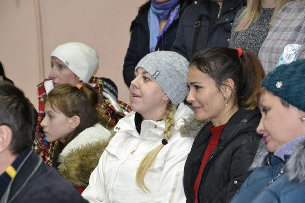 Родители пришли поддержать Лисичкину