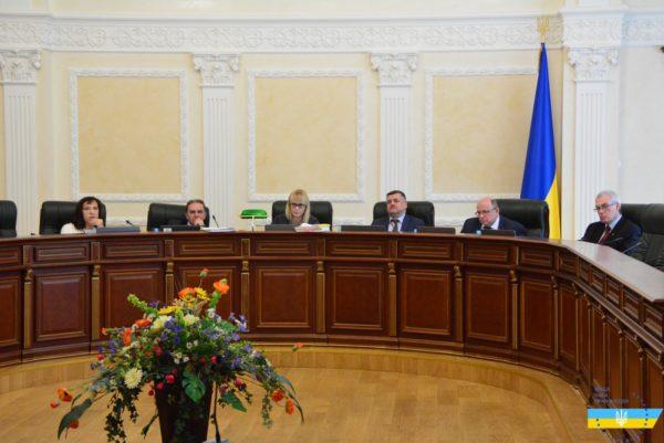 Засідання Другої Дисциплінарної палати Вищої ради правосуддя