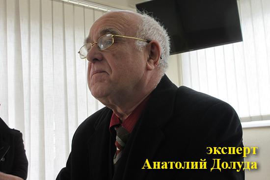Експерт Анатолій Долуда