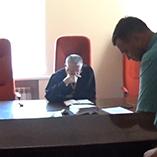 Судебное заседание по делу Тищенко